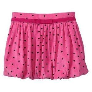 Baby GAP ALEXA Heart Pink Corduroy Bubble Skirt 2T